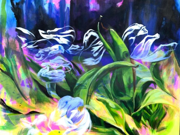 Cycle of life 4 (Tulips)